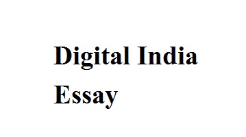 digital india essay in english how digital india dream can be a reality essay